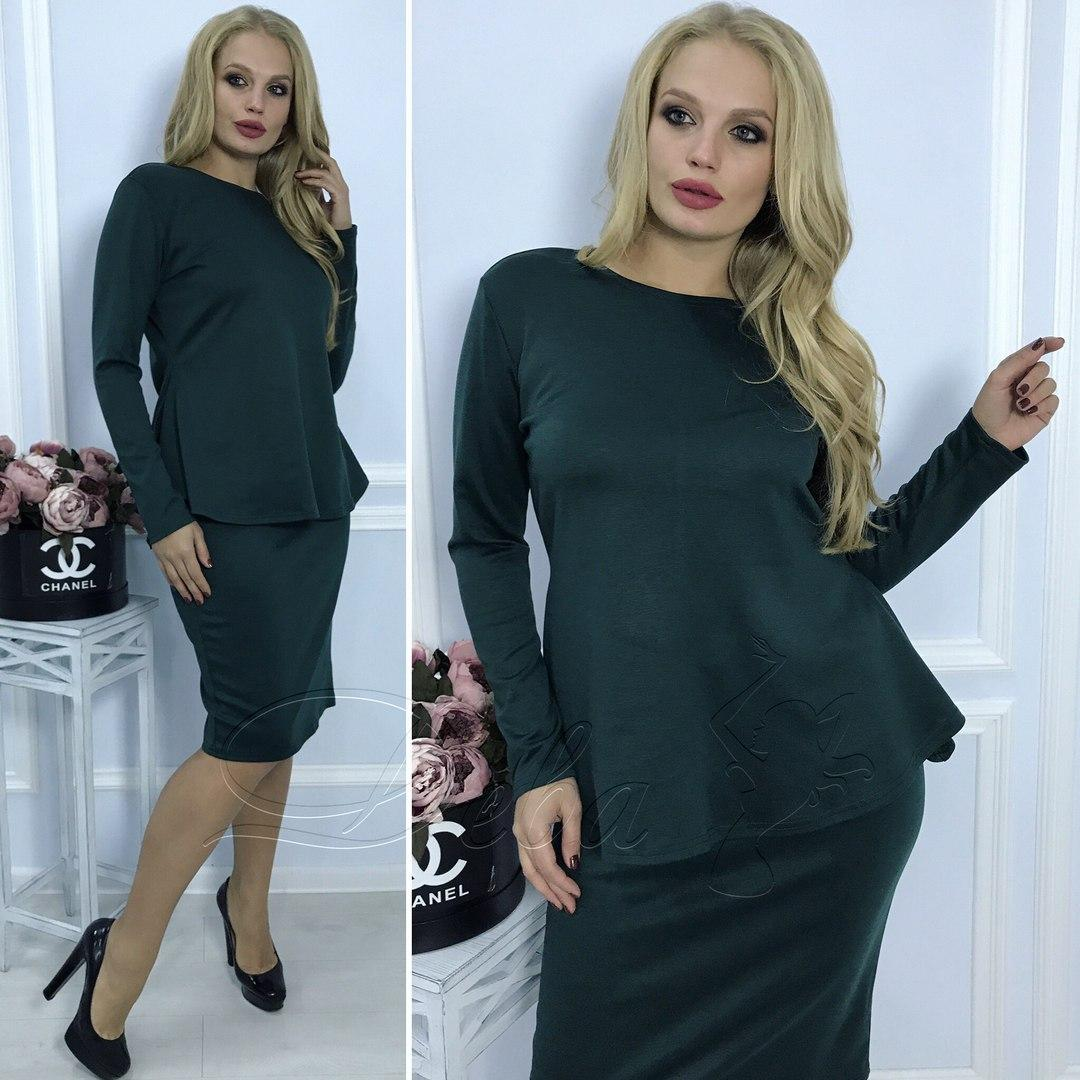 6efaeee7150 Костюм (2ка баска и юбка) женский норма ДЕ274  продажа