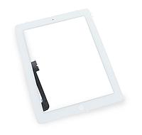 Тачскрин (сенсор) для iPad 4, белый, полный комплект, оригинал , фото 1