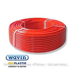Труба 16х2,0 Wavin Ekoplastik (Чехия) для тёплого пола PE-Xc/EVOH с кислородным барьером (оригинал) (200м)
