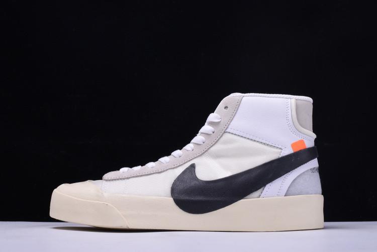 Кроссовки Nike Blazer Studio MID х Off White найк реплика - Интернет-магазин  кроссовок