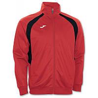 Олимпийка Joma CHAMPION III 100017.601 красно-черная ( реглан,спортивная кофта )
