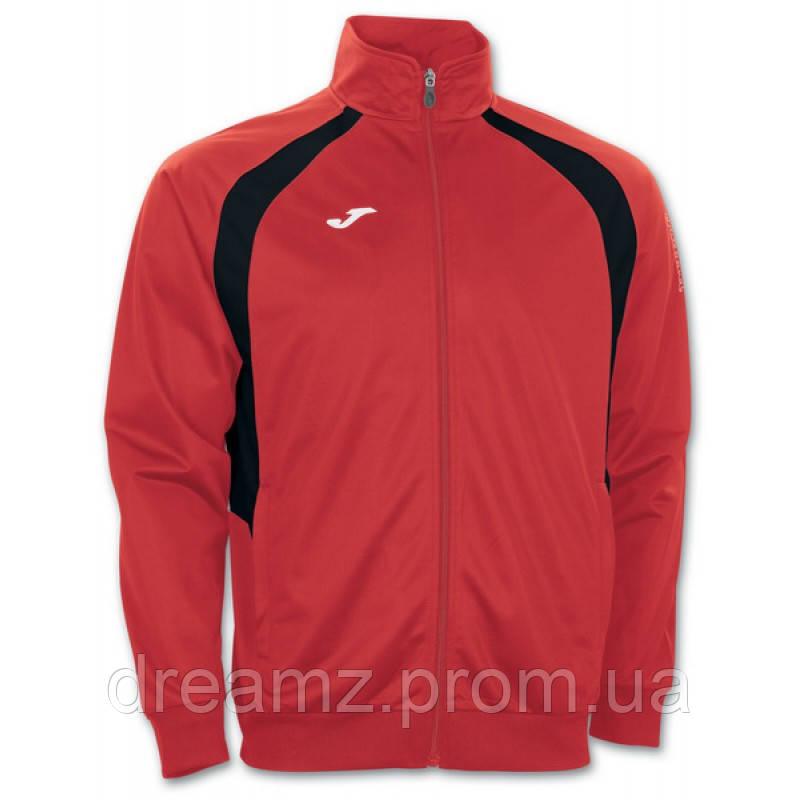 Олимпийка Joma CHAMPION III 100017.601 красно-черная ( реглан,спортивная  кофта ) - Интернет eff9e6066de