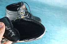 Высокие зимние ботинки PAV черные на меху, фото 3