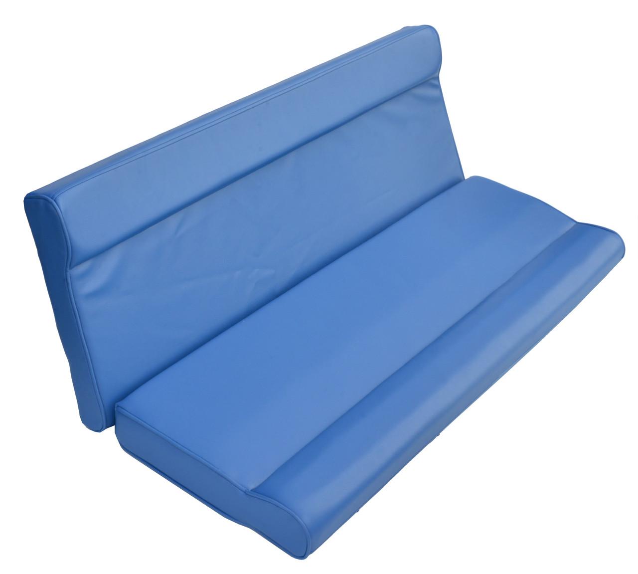 Спинка дивана для катера 120см синяя 1082051