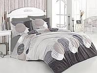 Качественный евро комплект постельного белья ТМ Nazenin Home, ранфорс Jadore
