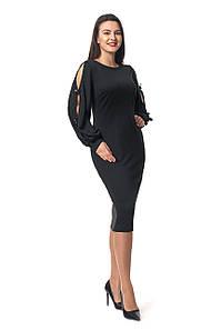 Платье Дорианна 0296_2 Чёрное