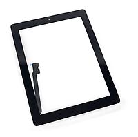 Тачскрін (сенсор) для iPad 4, чорний, повний комплект, оригінал, фото 1