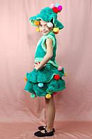 Дитячий костюм Ялинки плюшевий 3-7 років