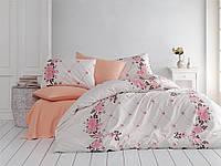 Качественный евро комплект постельного белья ТМ Nazenin Home, ранфорс JULIET-SOMON-2, фото 1