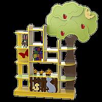 """Стеллаж для игрушек """"Яблонька"""""""