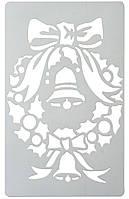 Трафарет новогодний 43,5х28,5 см.