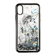 Чехол накладка силиконовый TPU Beckberg Aqua для iPhone 7/8 4.7 Fairy Black