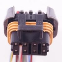 Разъем электрический 8-и контактный (25-13) б/у