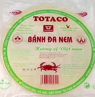 Бумага рисовая для жарки Banh Da Nem TOTACO 250 г