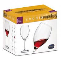 Набор бокалов для вина Bohemia Sophia 490мл-6шт 172180