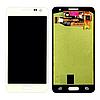 Дисплей (модуль) + тачскрин (сенсор) Samsung Galaxy A3 A300 A300F A300H A3000 (белый, яркость регулируется)