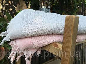 Полотенце махровое Buldans Orient пудра 90*150