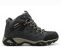 Мужские ботинки Columbia Omni-Grip Grey С МЕХОМ