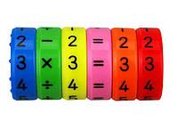 Магнитная головоломка для обучения математике