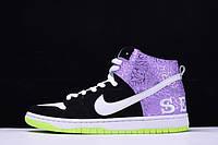 Кроссовки Nike Dunk High Prm SH найк 616752-016 реплика, фото 1
