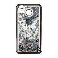 Чехол накладка силиконовый TPU Beckberg Aqua для Xiaomi Redmi 4a Fairy Black
