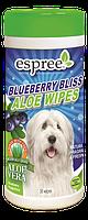 Espree Blueberry Bliss Wipes, 50 шт - влажные салфетки для собак