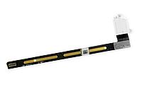 Шлейф для iPad Air 2, с конектором наушников, белый, фото 1