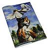 Обложка для паспорта Кот под зонтиком