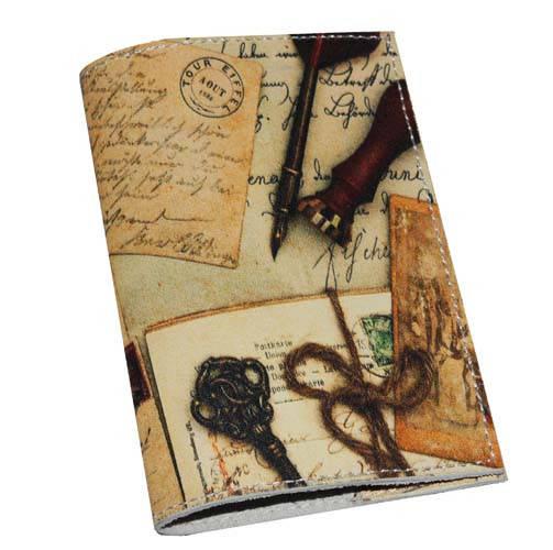 Кожаная обложка для паспорта/загранпаспорта Бизнес