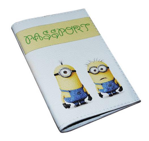 Обложка  для паспорта Миньоны