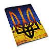 Кожаная обложка для паспорта Герб Украины