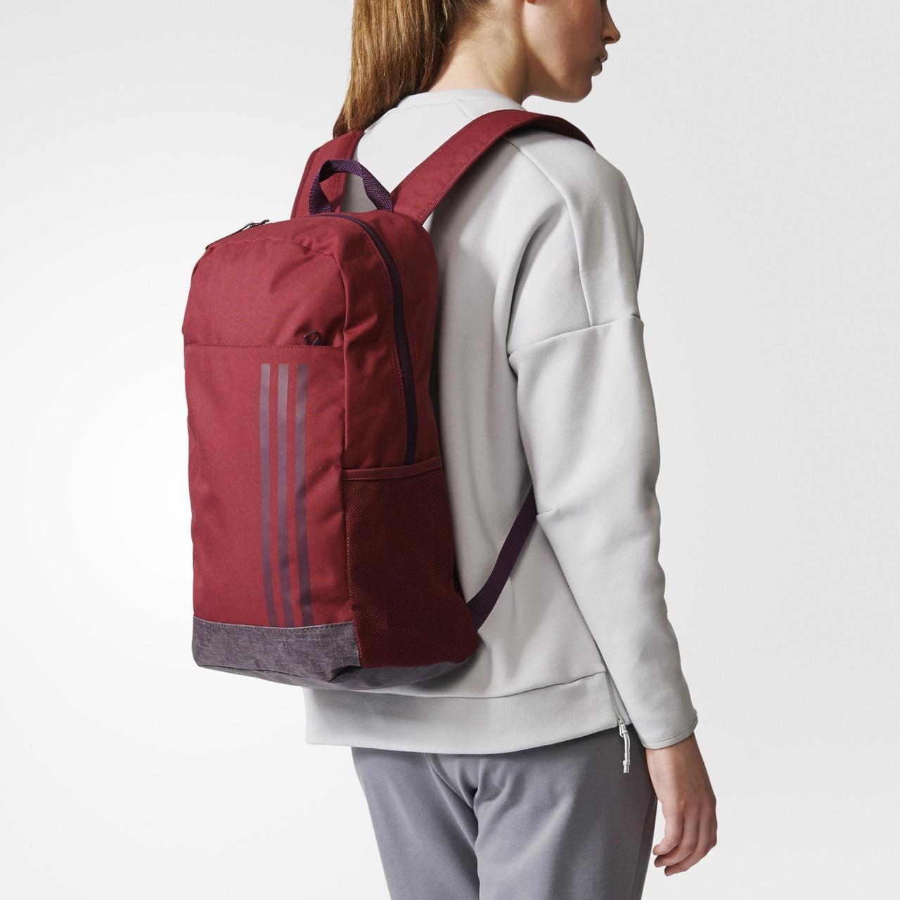 Original Рюкзак городской ADIDAS CLASSIC M  3-STRIPPED SORTING BAG BR1557 спортивный женский