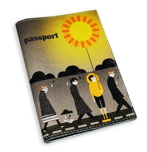 Обложка для паспорта Солнечный человек