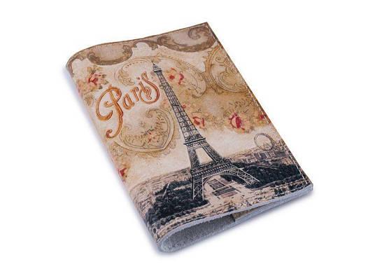 Женская обложка для паспорта/загранпаспорта Винтажная башня