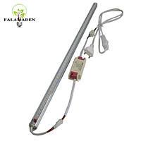 Фитосветильник для растений с кабелем, вилкой и кнопкой 12 Вт