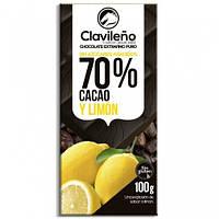 Шоколад Clavileno Limon 70% cacao, 100 г Испания
