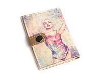 Обложка для ID паспорта Мерлин тату