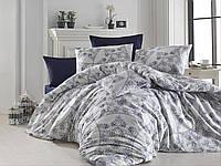 Качественный евро комплект постельного белья ТМ Nazenin Home, ранфорс ROSELLA