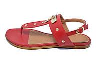 Босоножки женские Res Oleksiy Style 1702 Red