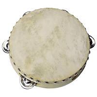 Музыкальный инструмент goki Бубен 5 колокольчиков UC085G