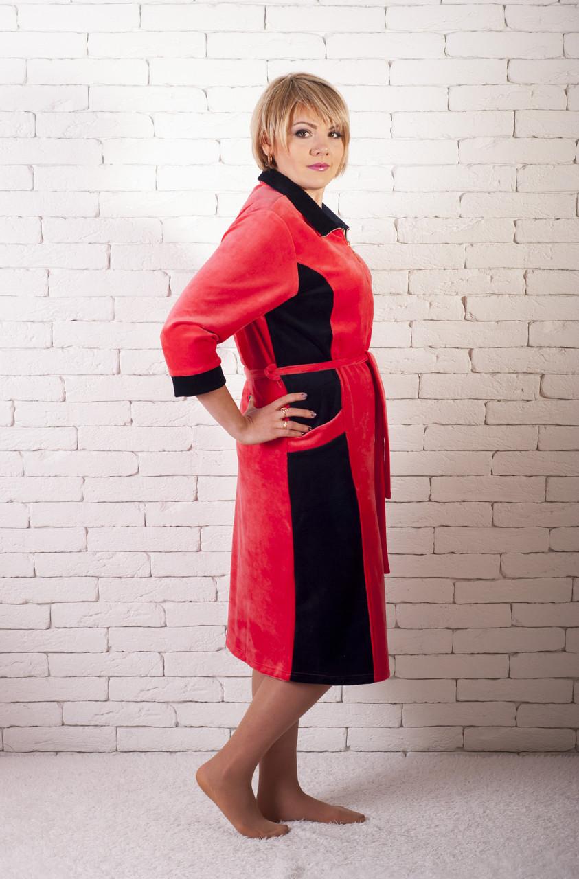 Велюровый костюм женский больших размеров
