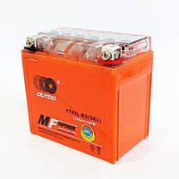 Мото аккумулятор АКБ 12в 5а низкий Дельта (110x67x105)