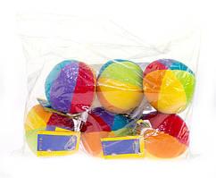 Мягкая игрушка goki Набор мячиков с погремушкой 6 шт. 65042