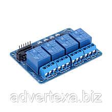 Модуль реле на 4 канала для Arduino, Raspberry Pi