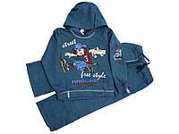 Спортивний костюм для хлопчиків арт.157920355 синій р.122 ТМВАЛЕРИ ТЕКС