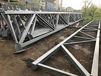 Ферми металічні 18 метрів з монтажем
