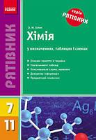 Хімія в таблицях, схемах та визначеннях 7-11.  Білик О.М.