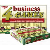 Настольная игра Четыре экономические игре (8004)