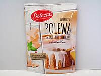 Глазурь Delecta со вкусом белого шоколада 100г