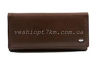 Кошелек женский кожа Sergio Toretti ST150 классика brown, фото 1